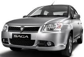 Proton saga mini sedan paling mewah