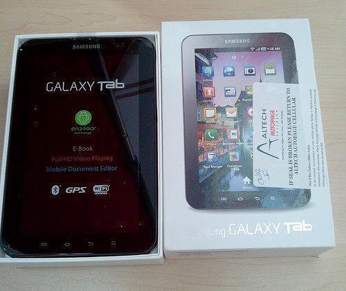 DIJUAL Samsung Galaxy Tab P1000 harga: Rp.2.500.000,JT-