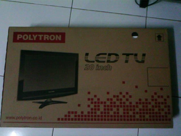 tv 20. harga nego tipis dijual tv led 20 inch polytron tv