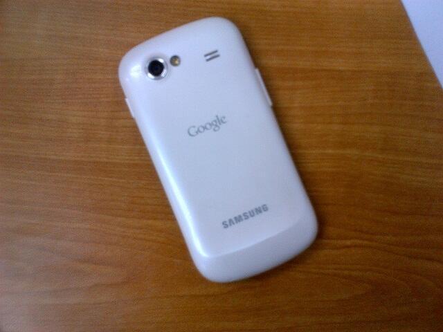 Jual Google Nexus S I9023 white second