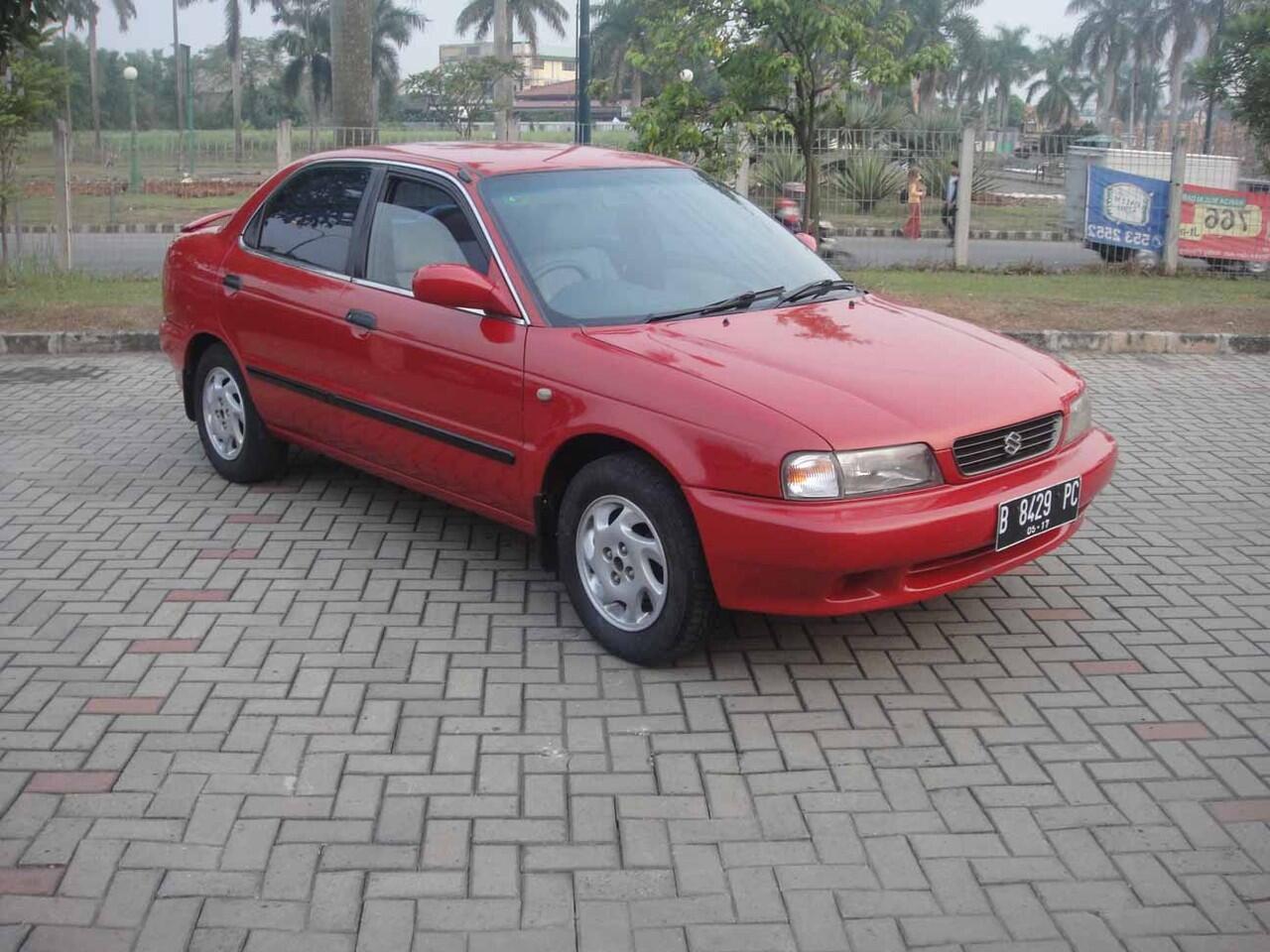 Suzuki Baleno th 1999, merah, nego langsung di 08129485373 - 02198057789