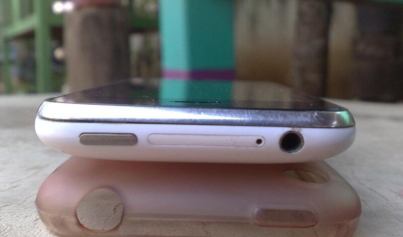 Iphone 3G 8gb SU white batangan semarang