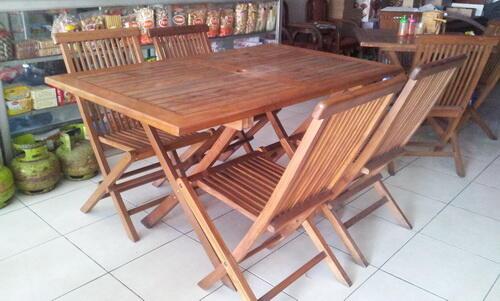 Meja+Kursi Rumah Makan
