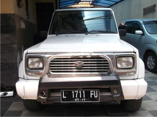 DAIHATSU TAFT ROCKY INDEPENDENT 1998 ORIGINAL GOOD CONDITION