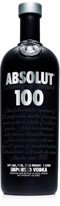 WTS> AbsoluteVodka 100, 1 Litre. ORIGINAL 100%