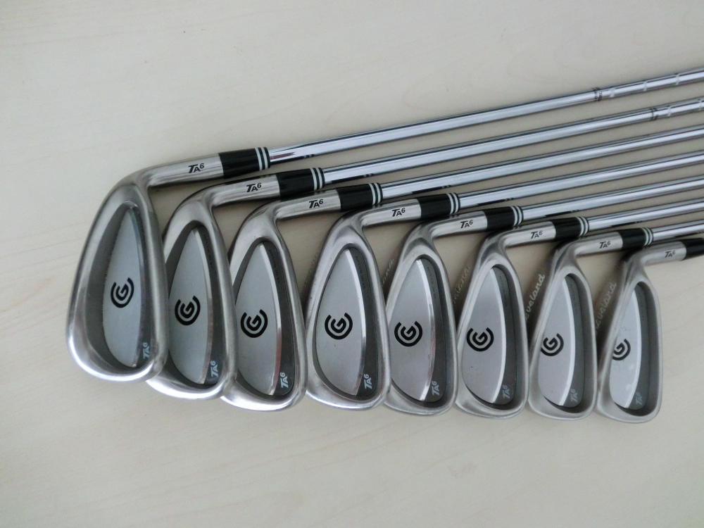 STICK CLUB IRON SET GOLF CLEVELAND TA6