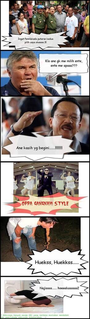 """Komik PSY si pelaku """"Gangnam Style"""""""