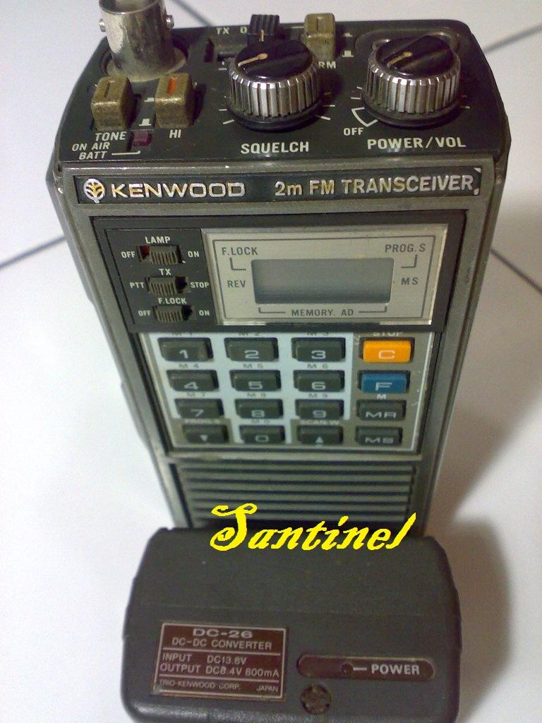 HT koleksi, Kenwood TR-2500 with Daiwa LA-2065R