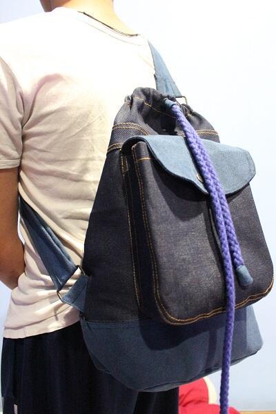 Sailor Bags Denim hanya Rp. 200.000