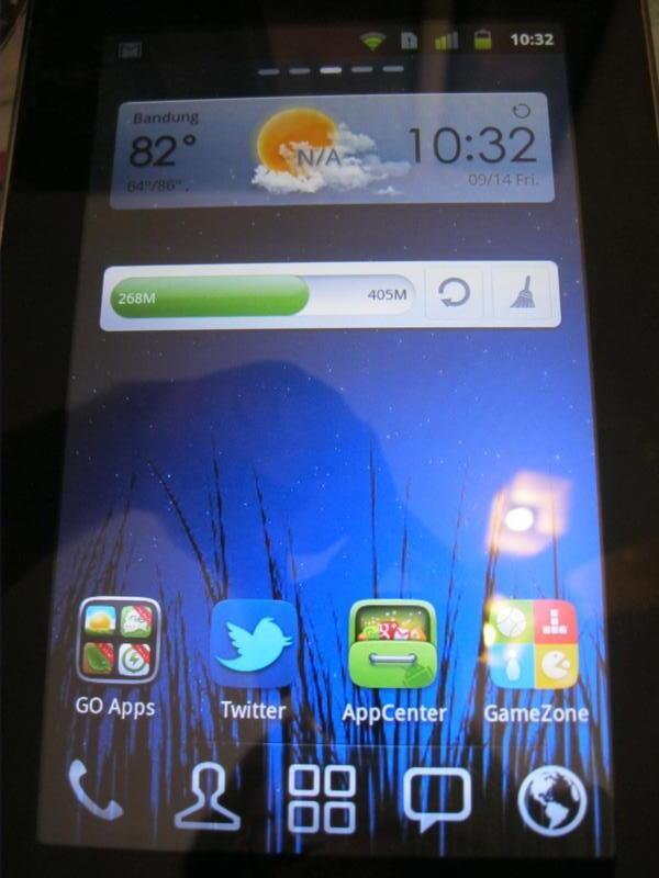 CYRUS TvPad K3410