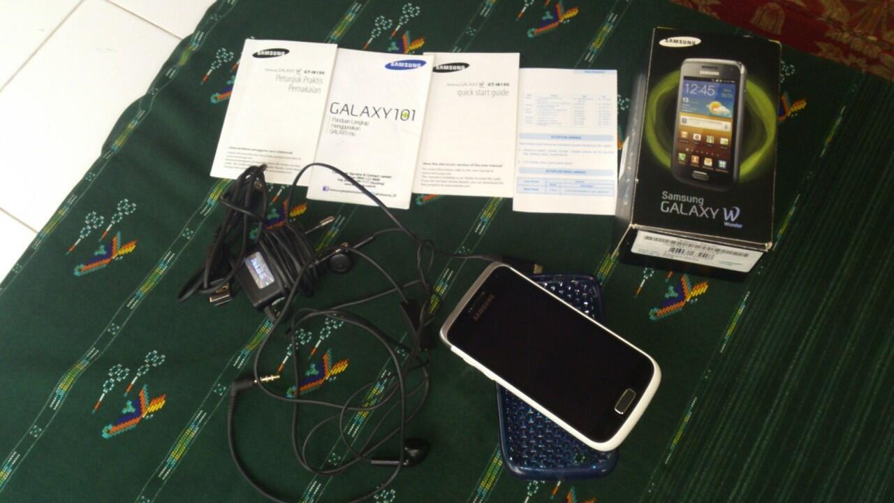 Samsung Galaxy Wonder White Super Mulus Fullset (Bogor)