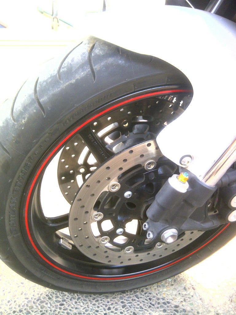 Dijual Moge Yamaha R6 2011 Putih Original FullSet