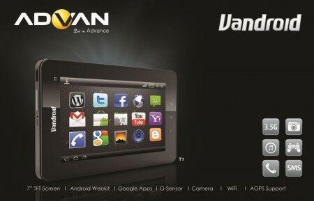Advan Vandroid T1C
