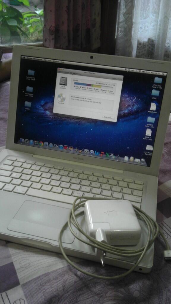 Jual Macbook White 3 jutaan