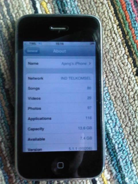Wts iphone 3gs 16gb white bandung muraaaaaaah