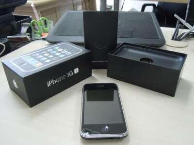 JUAL iPhone 3Gs 16GB Black FU Mulus Fullset