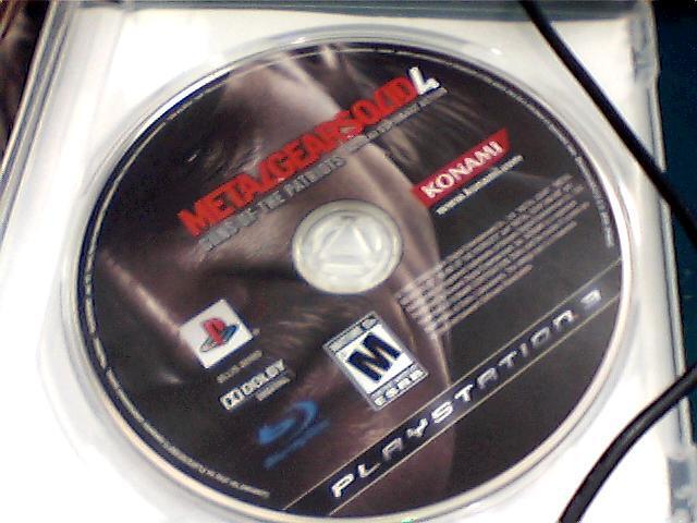 BD PS3 Metal Gear Solid 4 Mulus n komplit
