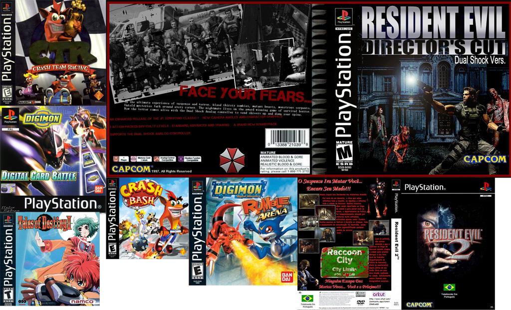 JUAL Game PS1