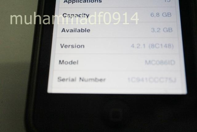 IPOD TOUCH 8GB Second/2nd Murah Nego