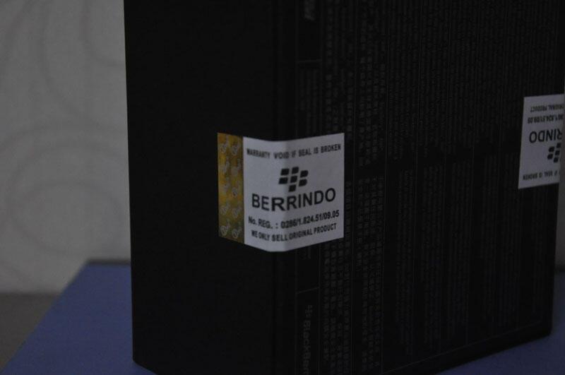 Blackberry Dakota Hitam BNIB Berryndo