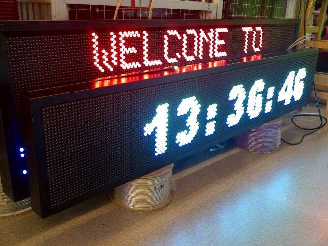 Promosi Running text & Videotron & Name tag ( LED )