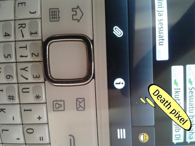 Nokia E6 ( E6-00 ) White Murah Meriah