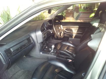 BMW 323i E36 tahun 1997 M/T Silver