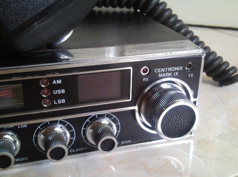 # Radio Tranceiver SSB 27mhz,.Centronix Mark IX #