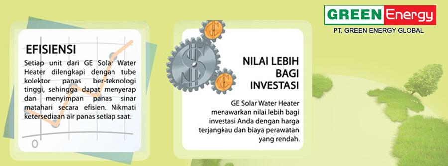 Green Energy - Free Hot Water From The Sun ----> yang butuh pemanas air dicek gan !!!