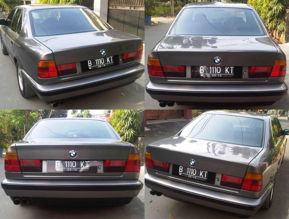 BMW 520i E34 Buldog 1989 Manual istimewa