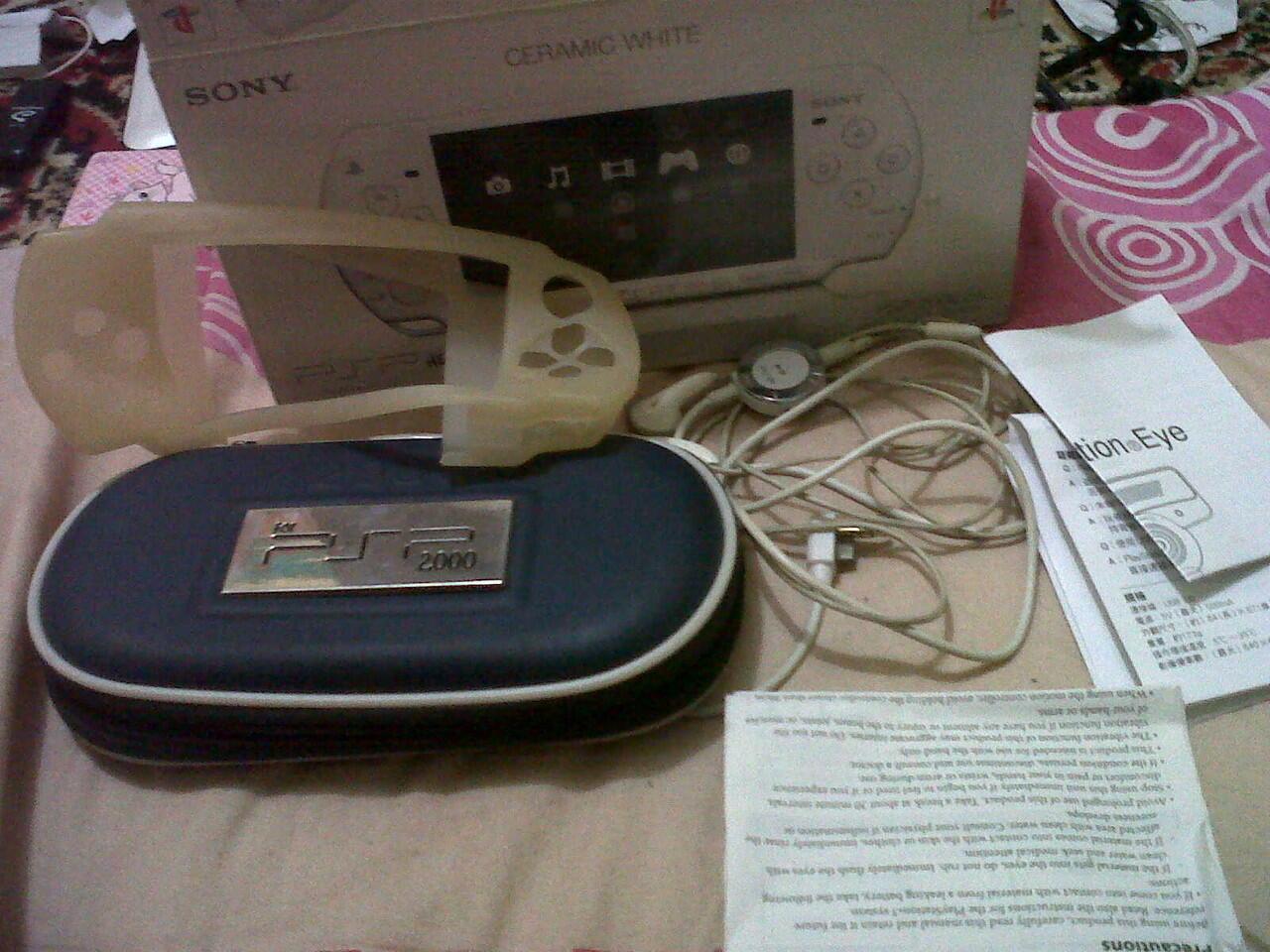 Jual PSP 2006 Slim Ceramic White Bandung