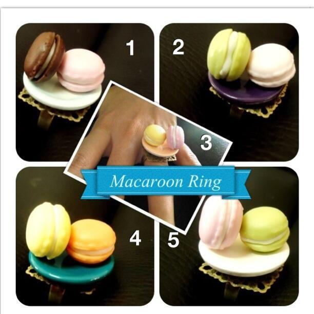 JUAL Cincin Macaroon and Cincin Rainbow Cake kereen...