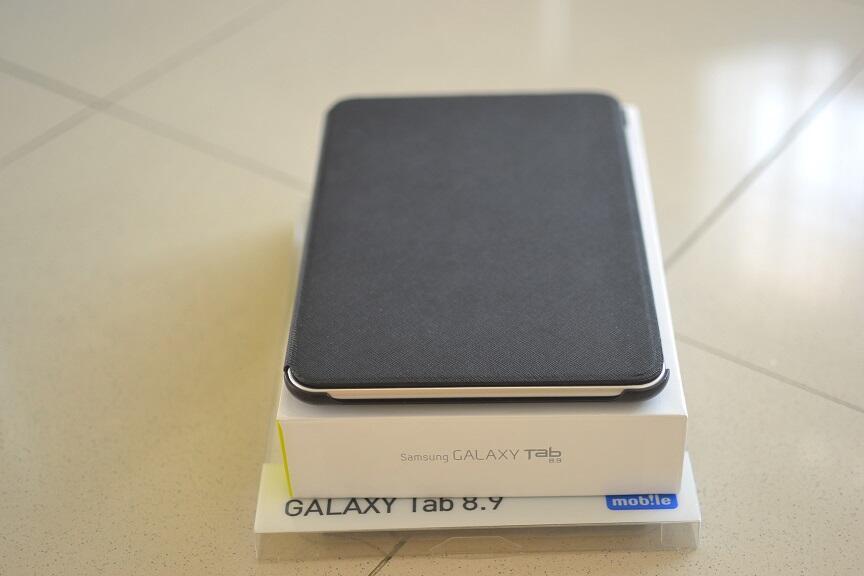 Samsung Galaxy Tab 8.9 3G+Wifi mulus 99% + anymode case