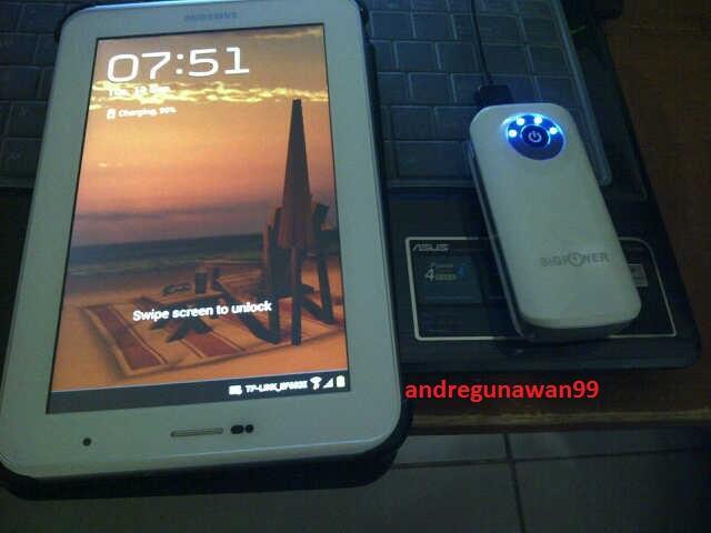 """Powerbank merk """"BigPower"""" 6600Mah Grs 1thn Rp.215000 aja!!!"""