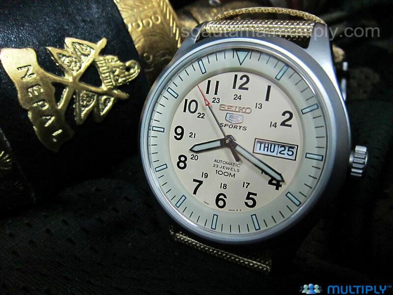 Jam Tactical dan Jam Militer