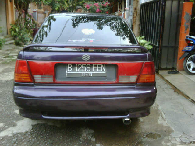 Suzuki Esteem ungu metalik muluussss bekasi