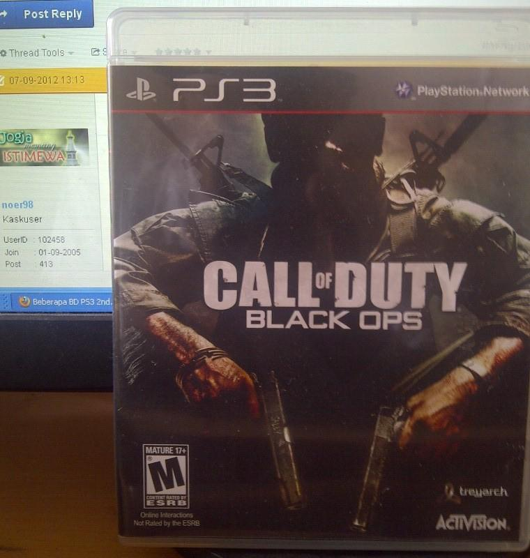 Call of Duty COD Black Ops Reg 1