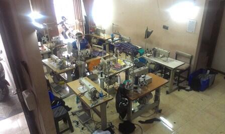 Produksi Kaos/T-shirt/Polo shirt, Kemeja, Jaket, Tas - Bandung