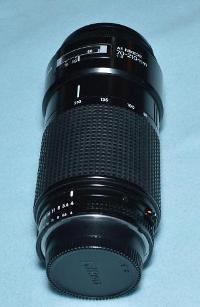 Nikon lensa micro 105mm f/2.8D dan 70-210mm f/4
