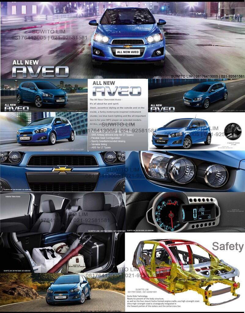 ALL NEW CHEVROLET AVEO 1.4 L 2012