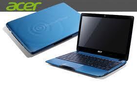 wts laptop acer aspire one 722 dengan harga Rp.2.3Jt