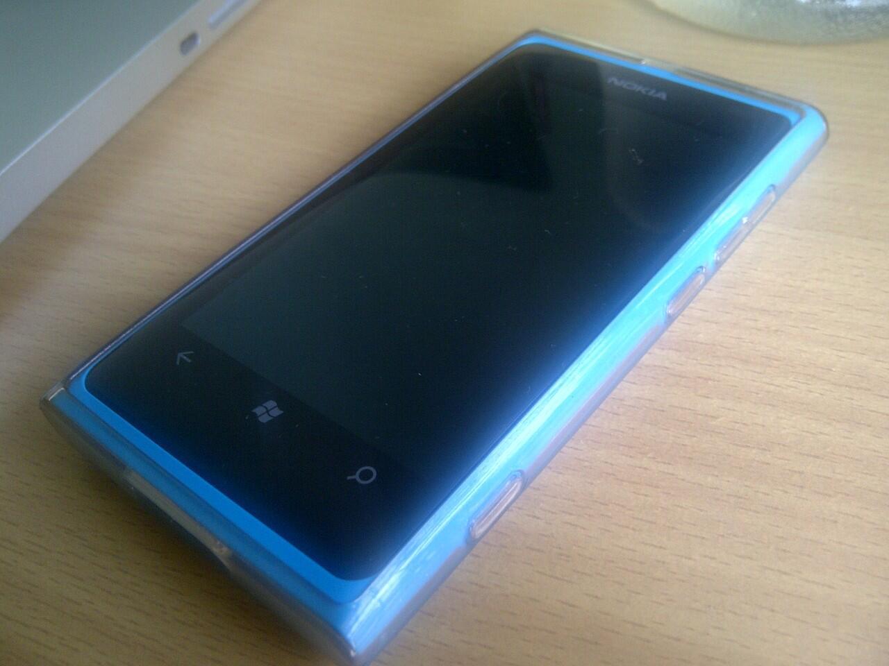 WTS nokia lumia 800 cyan