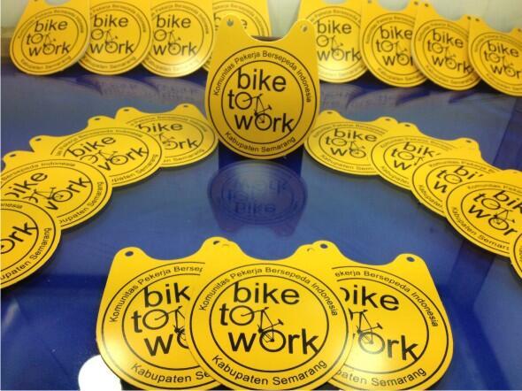 Jual Bike Tag B2w Reflektif Ready Stock