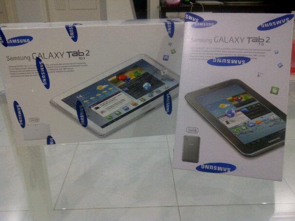"""New! Samsung Galaxy Tab 2 7"""" P3100 & Tab 2 10.1"""" P5100 (Malang)"""