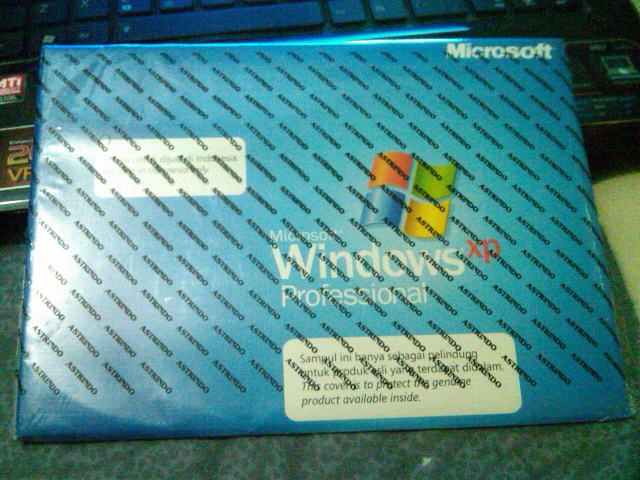 WINDOWS XP PROFESSIONAL ORI,, MASIH SEGEL... 200RBU