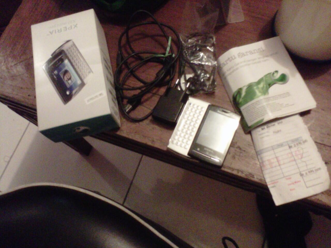jual/tt sony ericsson Xperia Mini pro x10 (fullset,mulus) Malang