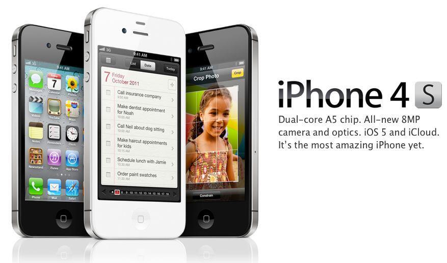 Iphone 4S Harga Rp.4.500.000 HUB:0821-9205-4747
