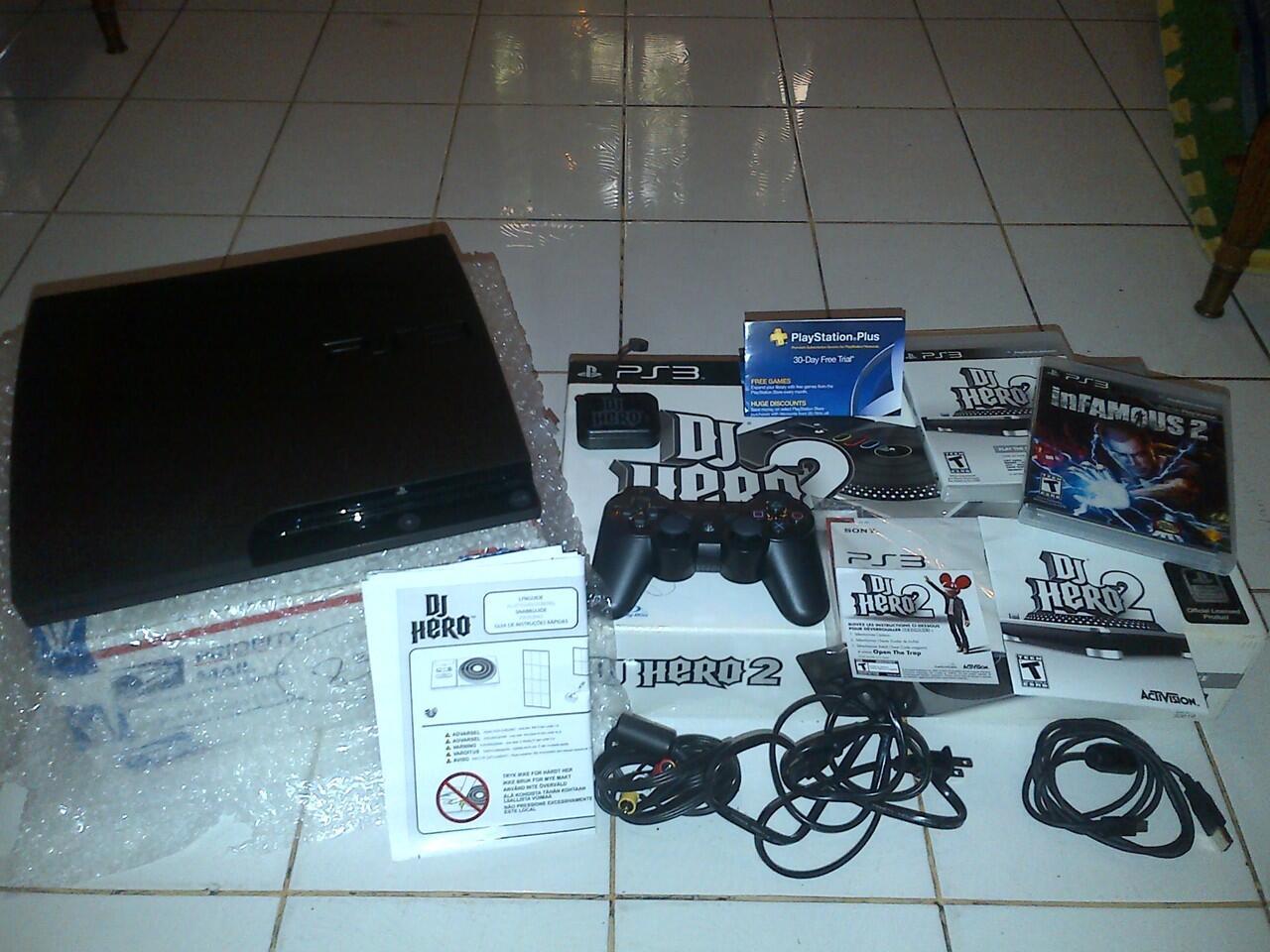 WTS PS3 Slim 320GB Original
