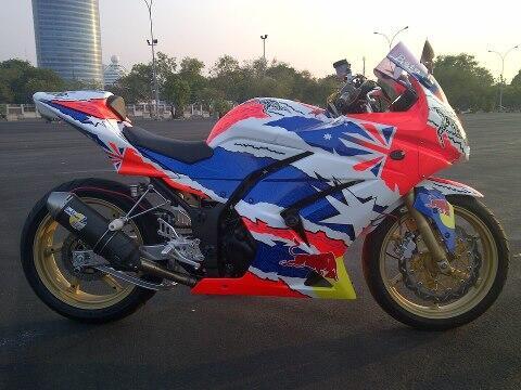 Dijual Kawasaki Ninja 250R Full Modification (A Tribute To Stoner)