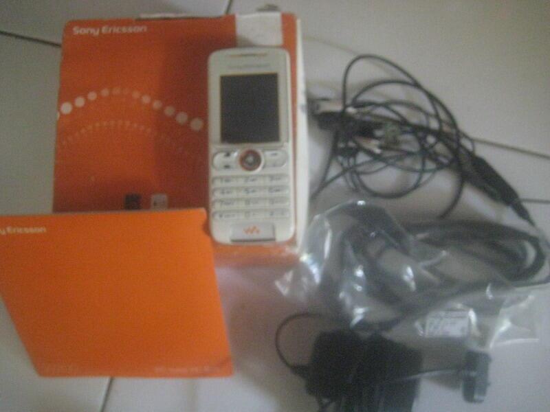 Jual Sony Ericsson W200i Fullset